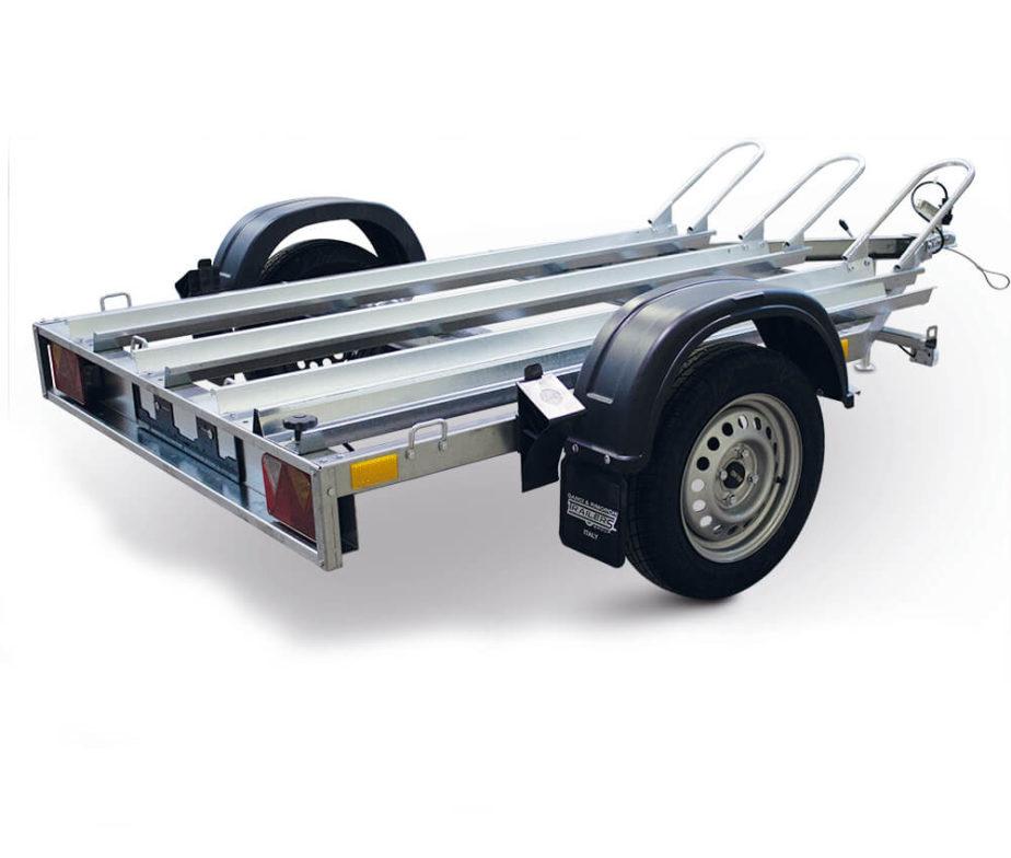 MOTO 3 trailers group rimorchio per moto La Maggiore